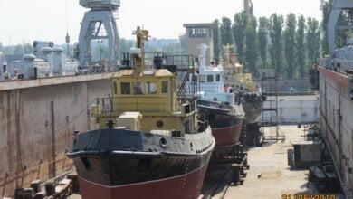 Судостроительный завод «Океан» спустил на воду три отремонтированных буксира (ВИДЕО) | Корабелов.ИНФО image 3