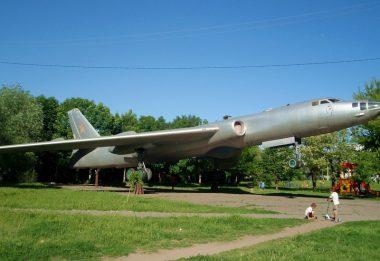 памятник Самолет в Кульбакино