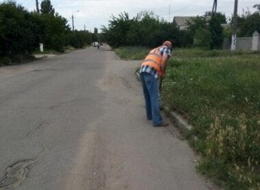 ручная уборка вдоль дорог