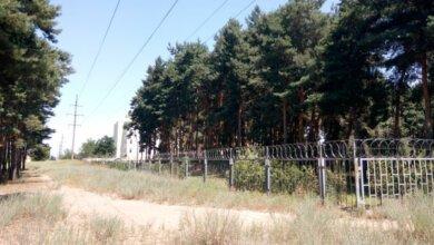 Ліс з санаторієм-профілакторієм по вул. Металургів