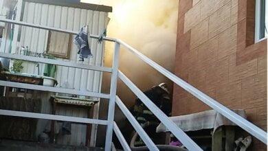 В Корабельном районе горела хозпостройка — пожарные предотвратили взрыв   Корабелов.ИНФО