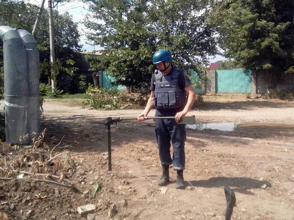 Photo of Мешканець Корабельного району знайшов на вулиці артилерійський снаряд