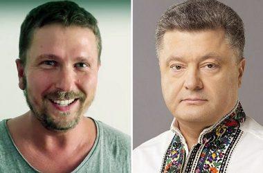Анатолий Шарий и Петр Порошенко