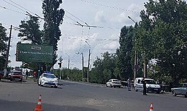 Photo of В Николаеве возле «Эпицентра» задержали мужчину с «зарядом к гранатомёту»