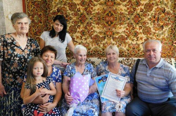 Столетнюю жительницу Николаева поздравили с юбилеем   Корабелов.ИНФО