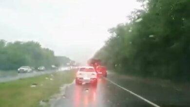 9 августа ливень затопил трассу и поля возле Николаева (видео)   Корабелов.ИНФО