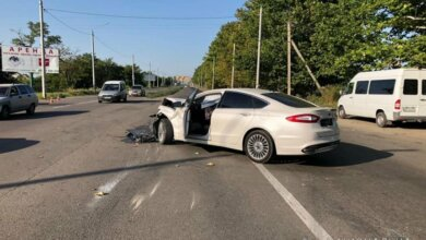 На перегоне в Николаеве столкнулись «Ford» и «Renault» - пострадали четыре человека   Корабелов.ИНФО image 3