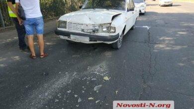 На Широкобальском мосту столкнулись три автомобиля — травмирована девушка | Корабелов.ИНФО image 1