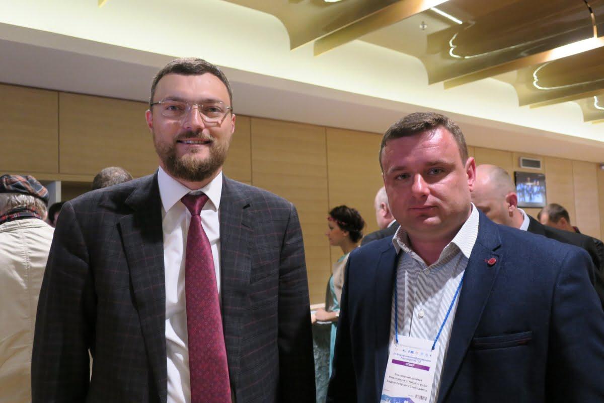 Игорь Дятлов и Андрей Слободяник