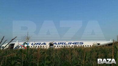 Самолет, летевший в оккупированный Крым, экстренно сел на кукурузном поле. Все пассажиры живы | Корабелов.ИНФО