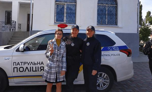 Photo of Граючи з офіцером поліції, ліцеїсти в Корабельному районі вивчали ПДД