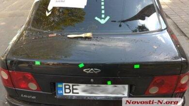 «Дело рук конкурентов», - в Николаеве таксисты Uklon показали свои побитые машины | Корабелов.ИНФО image 2