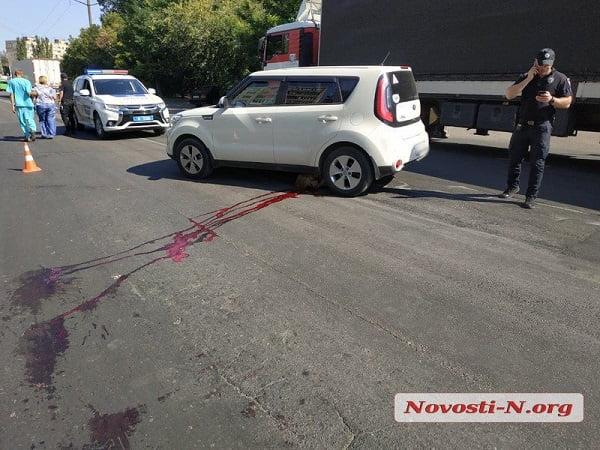 Photo of На пешеходном переходе в Николаеве женщина на «Киа» сбила насмерть пенсионерку