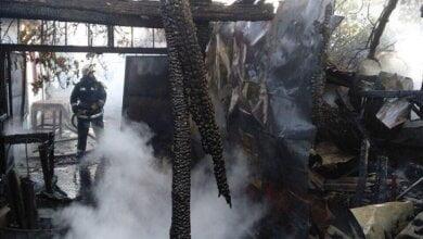 За последние дни спасатели дважды тушили пожары в Витовском районе   Корабелов.ИНФО