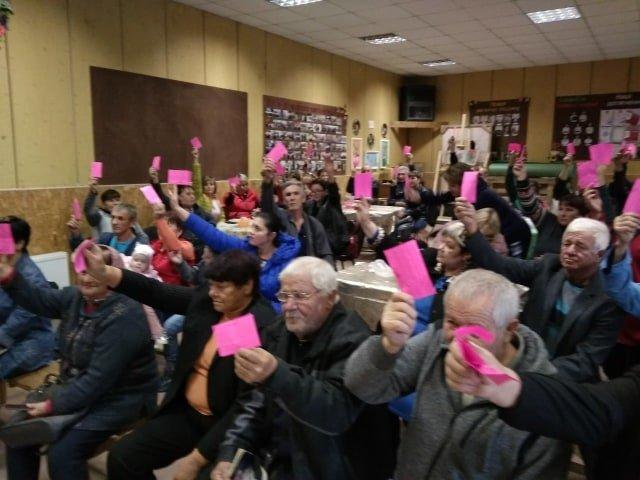 общественные слушания в Галицыновской общине