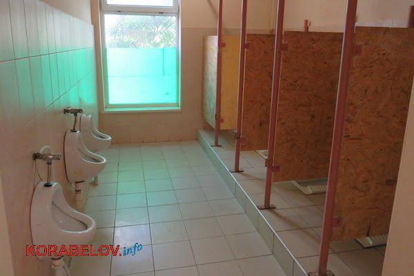туалет для мальчиков в Николаевской школе №1