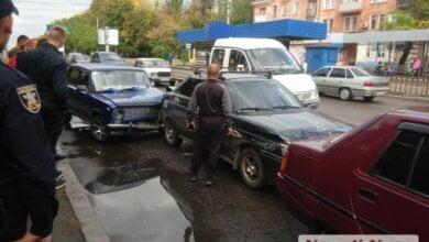 На проспекте Богоявленском в Николаеве произошло тройное ДТП | Корабелов.ИНФО