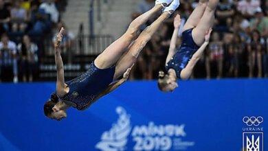 Николаевская и киевлянская спортсменки победили в Кубке мира в синхронных прыжках на батуте | Корабелов.ИНФО