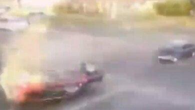 В Николаеве «Жигули» ударом в бок перевернул внедорожник (видео) | Корабелов.ИНФО