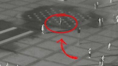 Photo of Неизвестный вандал повредил фонтаны на Соборной площади в Николаеве (видео)