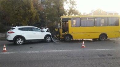 Photo of На Николаевщине в ДТП с автобусом пострадали 8 человек, в их числе трое детей