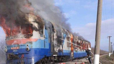 На Николаевщине на ходу загорелся поезд   Корабелов.ИНФО