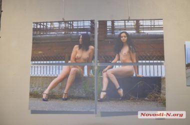 Обнаженные девушки на фоне железобетона — «провокация» от николаевского фотографа | Корабелов.ИНФО image 10