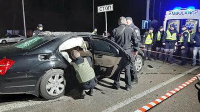 В Киеве взорвали «Mercedes», в котором ехал бизнесмен – один человек погиб, двое ранены (видео)   Корабелов.ИНФО