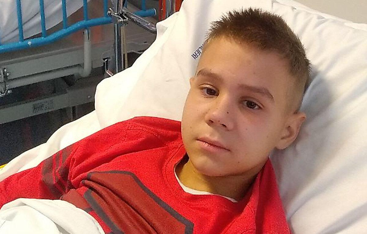 Photo of 13-летнему Ване Красножону из Корабельного района снова нужна помощь в борьбе с раком крови