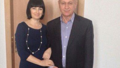 Марина Буштрук и ее муж Александр Чередниченко (фото из соцсети)