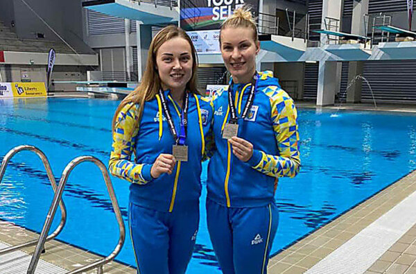 Диана Шелестюк и Елена Федорова