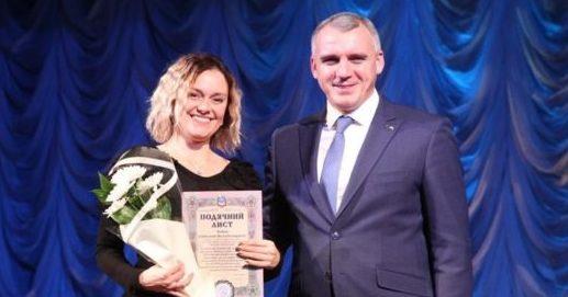 Photo of Миколаївська влада нагородила працівників культури ПК «Корабельний»