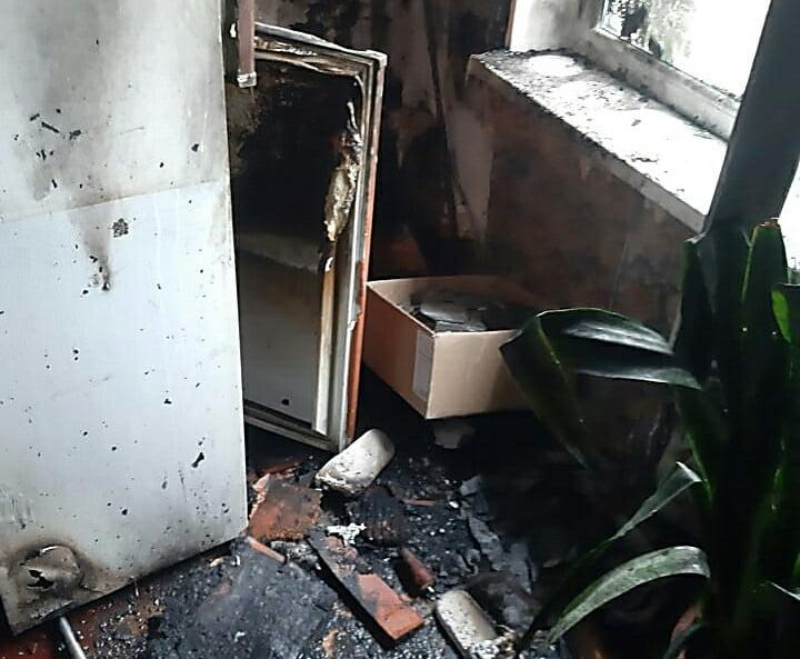 Photo of В Корабельном районе из-за замыкания электропроводки горела квартира в девятиэтажке