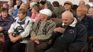 ветераны труда в Корабельном районе г. Николаева (архивное фото)
