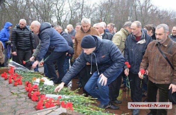 В Николаеве почтили память погибших в советской оккупации Афганистана   Корабелов.ИНФО
