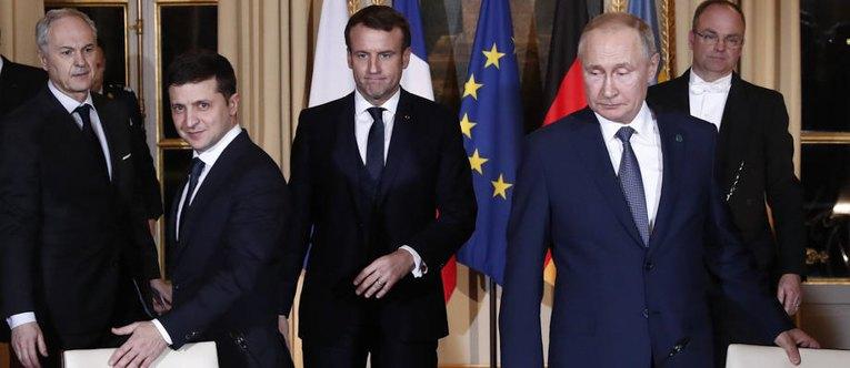 Photo of До чего договорились на встрече лидеров «нормандской четверки»