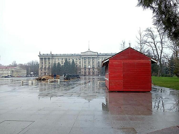 Photo of На реконструкцию Серой площади в центре Николаева снова объявят тендер