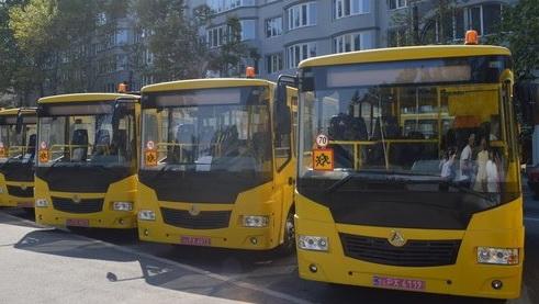 """школьные автобусы (фото """"Николаевские известия"""")"""