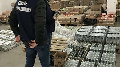В Корабельном районе изъяли 47 тысяч бутылок алкоголя с признаками подделки (видео) | Корабелов.ИНФО image 1