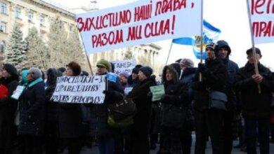 Photo of В Николаеве митинговали против законопроектов о труде и требовали увольнения министра экономики (видео)