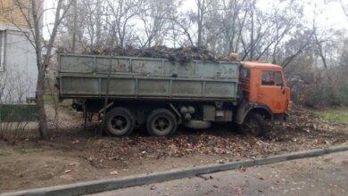 Photo of У Корабельному районi прибрали листя та сміття