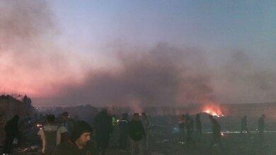 Украинский самолет с 180 пассажирами разбился в Иране (видео) | Корабелов.ИНФО
