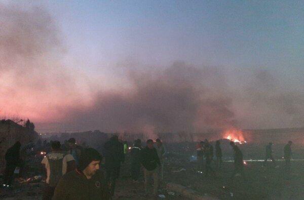 Украинский самолет с 180 пассажирами разбился в Иране (видео)   Корабелов.ИНФО