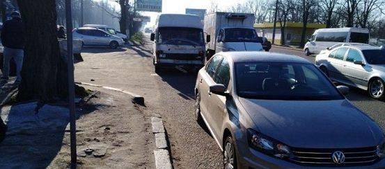 Photo of На проспекте Богоявленском в Николаеве столкнулись два «Фольксвагена»