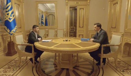 Photo of Зеленский оставил Гончарука премьером. Видео личной встречи