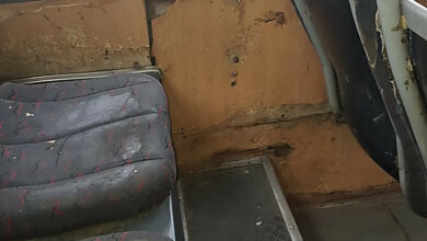 «Транспорт для перевозки скота»: Пассажиры снова жалуются на плохое состояние «маршруток» №1 | Корабелов.ИНФО image 1