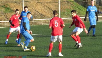 Photo of В рамках зимової першості міста з футболу зустрілись команди «Ольвія» і МФК «Миколаїв» (U-19). Відео