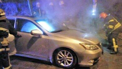 Photo of В Корабельном районе вчера вечером загорелся Lexus
