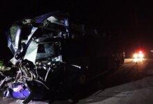 Photo of На Николаевщине столкнулись рейсовый автобус и грузовик – пострадало 17 человек