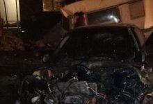 Photo of В Корабельном районе легковушка въехала в забор частного дома – водитель с места аварии сбежал